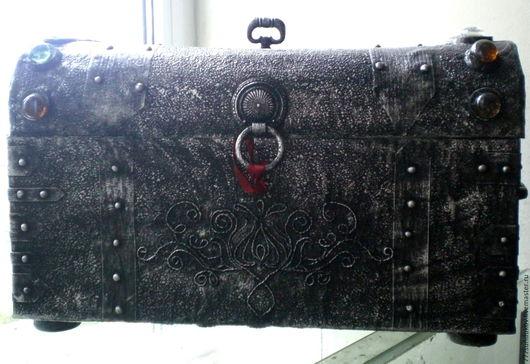 Необычные сундуки ручной работы, шкатулки ручной работы, купить сундук, удивительная вещь, handmade.Старинная Шкатулка, короб, сундучок, Питер, Санкт-Петербург,