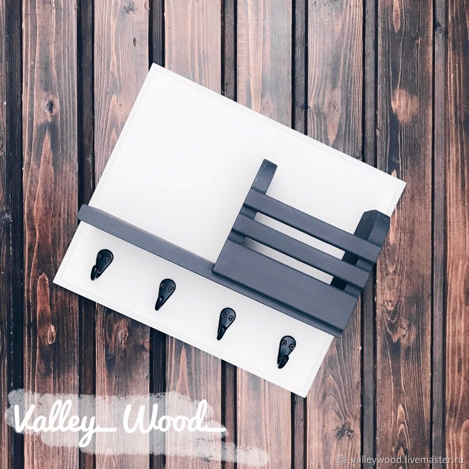 Key holder made of wood wall mounted, Housekeeper, Tolyatti,  Фото №1