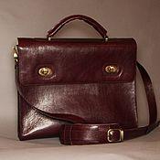 Сумки и аксессуары handmade. Livemaster - original item Portfolio for papers made of genuine leather.. Handmade.