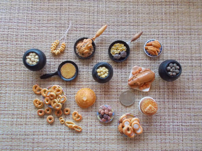 Еда для кукол, кукольная миниатюра, еда 1:12, Кукольная еда, Псков,  Фото №1