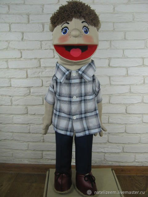 Вовчик кукла на руку . с открывающимся ртом, Куклы, Николаев, Фото №1