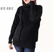Одежда handmade. Livemaster - original item Women`s sweater black. Handmade.