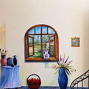 """Картины и панно ручной работы. Ярмарка Мастеров - ручная работа """"Творческая мастерская"""". Handmade."""