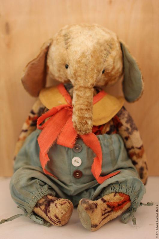 Мишки Тедди ручной работы. Ярмарка Мастеров - ручная работа. Купить Слон Марвел.. Handmade. Комбинированный, опилки древесные