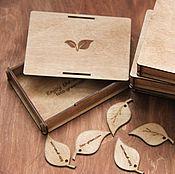 Материалы для творчества ручной работы. Ярмарка Мастеров - ручная работа Деревянная коробка для фото 10*15 см. Handmade.