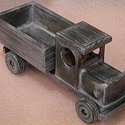 Куклы и игрушки ручной работы. Ярмарка Мастеров - ручная работа грузовой автомобиль-ретро. Handmade.