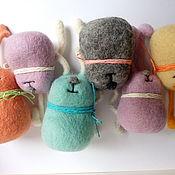 Куклы и игрушки ручной работы. Ярмарка Мастеров - ручная работа Солнечные зайцы. Handmade.