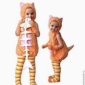 """Работы для детей, ручной работы. Ярмарка Мастеров - ручная работа Костюм """"Рыжий котик"""". Handmade."""
