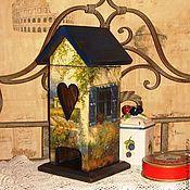 """Для дома и интерьера ручной работы. Ярмарка Мастеров - ручная работа Чайный домик """" На солнечной стороне улицы"""". Handmade."""