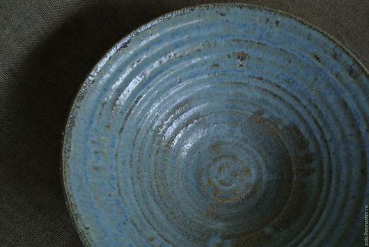 Тарелки ручной работы. Ярмарка Мастеров - ручная работа. Купить Блюдо керамика под плов, очень большое. Handmade. Голубой