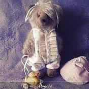 Куклы и игрушки ручной работы. Ярмарка Мастеров - ручная работа Teddy bear МАНЮША. Handmade.