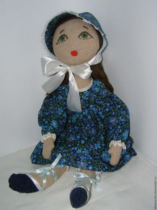 Человечки ручной работы. Ярмарка Мастеров - ручная работа. Купить Кукла текстильная игровая Таисия. Handmade. Кукла ручной работы