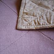Детское одеяло на подкладе (двустороннее стеганое одеяло)