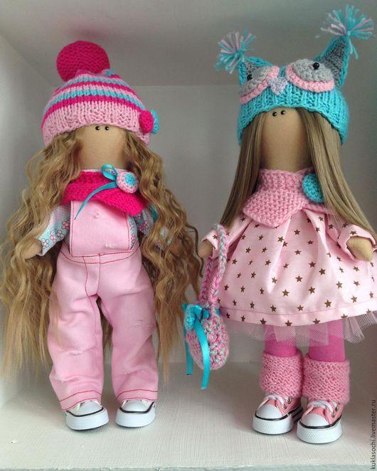 Куклы тыквоголовки ручной работы. Ярмарка Мастеров - ручная работа. Купить Текстильная кукла. Handmade. Комбинированный, трикотаж