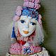 Будуарная кукла `Зефирка`