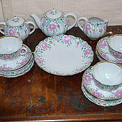 handmade. Livemaster - original item Vintage sets: Morning tea set LFZ 20 items. Handmade.