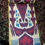 Материалы для творчества handmade. Livemaster - original item Uzbek cotton ikat hand weaving. FM066. Handmade.