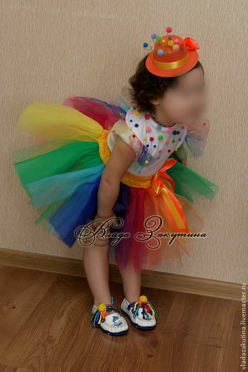 Детские карнавальные костюмы ручной работы. Ярмарка Мастеров - ручная работа. Купить Костюм хлопушки. Handmade. Хлопушка, помпоны, карнавал