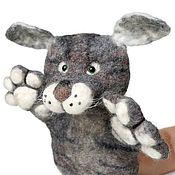 Куклы и игрушки handmade. Livemaster - original item Cat glove doll. Theatrical marionette for puppet theater. Handmade.