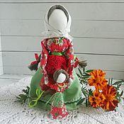 Куклы и игрушки handmade. Livemaster - original item Vedecka with a girl. Handmade.