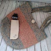Сумки и аксессуары handmade. Livemaster - original item Bag made of jute. Handmade.
