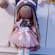 Куклы и игрушки ручной работы. Ярмарка Мастеров - ручная работа Интерьерная текстильная кукла большеножка Совушка. Handmade.