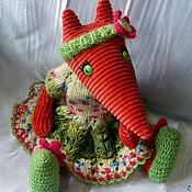Куклы и игрушки ручной работы. Ярмарка Мастеров - ручная работа Лисичка Люся (Люсиль). Handmade.