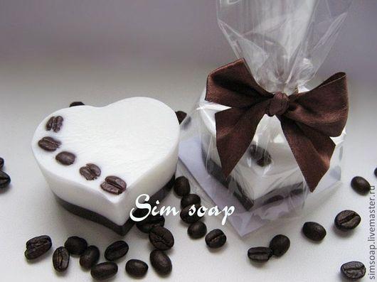 Мыло ручной работы. Ярмарка Мастеров - ручная работа. Купить Мыло Кофейная любовь. Handmade. Шоколадное мыло, коричневый, кофе