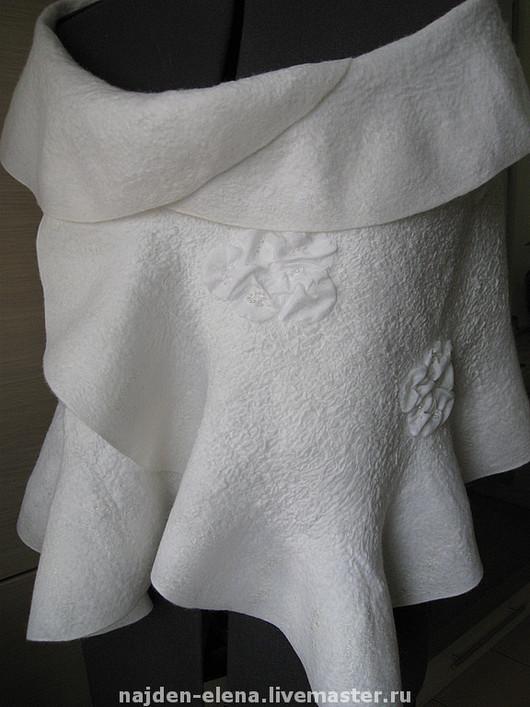 Одежда и аксессуары ручной работы. Ярмарка Мастеров - ручная работа. Купить палантин для невесты. Handmade. Свадебные аксессуары, палантин, бисер