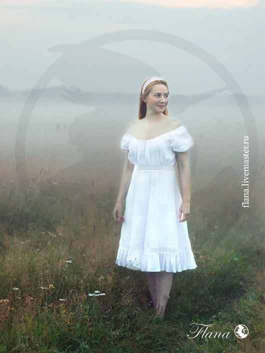 Флана - эксклюзивные платья на заказ и для проведения фотосессий. Летнее платье с кружевной отделкой
