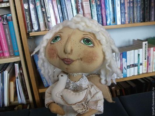 Коллекционные куклы ручной работы. Ярмарка Мастеров - ручная работа. Купить Ангел-хранитель домашнего уюта. Handmade. Ангел-хранитель