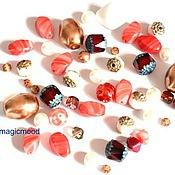 Материалы для творчества handmade. Livemaster - original item 20 gr Mix Cathedral Czech beads 0500 beads. Handmade.