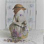 Сувениры и подарки ручной работы. Ярмарка Мастеров - ручная работа Арома-кубышка, кукла-саше с травами. Handmade.