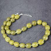 Работы для детей, handmade. Livemaster - original item RARE!Natural kalarit (hilaric) necklace. Handmade.