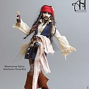 Куклы и игрушки handmade. Livemaster - original item Captain Jack (13.5 cm). Handmade.