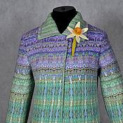 """Одежда ручной работы. Ярмарка Мастеров - ручная работа пальто валяное """"Репетиция весны"""". Handmade."""