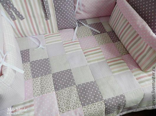 Пледы и одеяла ручной работы. Ярмарка Мастеров - ручная работа. Купить Детское лоскутное одеяло, покрывало. Handmade. Одеяло детское
