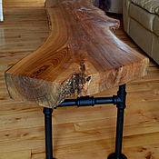Для дома и интерьера ручной работы. Ярмарка Мастеров - ручная работа Журнальный столик в стиле лофт. Handmade.