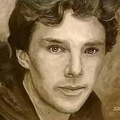 Картины и панно ручной работы. Ярмарка Мастеров - ручная работа Портрет одного мужчины. Handmade.