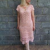 """Одежда ручной работы. Ярмарка Мастеров - ручная работа Платье """"Цветок персика"""". Handmade."""
