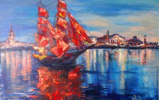 Слова и музыка Владимира Ланцберга\r\n\r\nРебята, надо верить в чудеса!\r\nКогда-нибудь весенним утром ранним\r\nНад океаном алые взметнутся паруса,\r\nИ скрипка пропоет над океаном.\r\n\r\nНе три гла