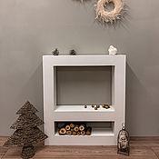 Для дома и интерьера handmade. Livemaster - original item Fireplace portal GEOMETRY. Handmade.
