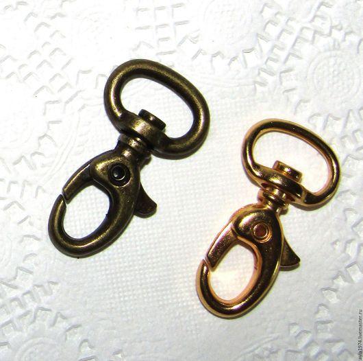 Другие виды рукоделия ручной работы. Ярмарка Мастеров - ручная работа. Купить Карабин 35 х 12 мм,золото. Handmade.