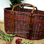 Работы для детей, handmade. Livemaster - original item Basket= cradle. Handmade.