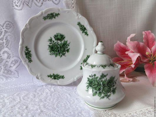"""Сервизы, чайные пары ручной работы. Ярмарка Мастеров - ручная работа. Купить Чайный набор,""""Winterling Roeslau"""", Германия. Handmade."""