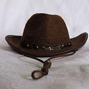 Аксессуары handmade. Livemaster - original item Cowboy hat. Handmade.