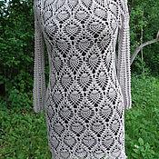 Одежда ручной работы. Ярмарка Мастеров - ручная работа платье Кофе со льдом. Handmade.