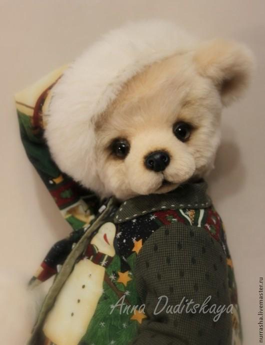 Мишки Тедди ручной работы. Ярмарка Мастеров - ручная работа. Купить Гриня. Handmade. Бежевый, мишка, немецкий плюш