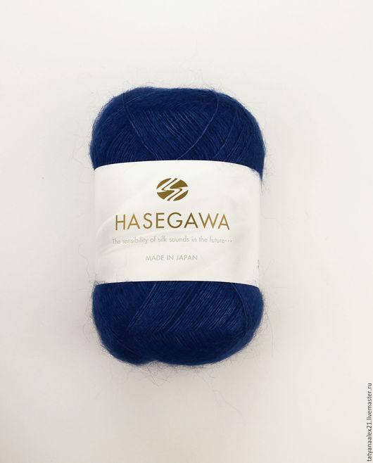 Вязание ручной работы. Ярмарка Мастеров - ручная работа. Купить Пряжа Hasegawa Seika №  38 CLASSIC BLUE. Handmade.