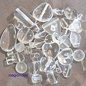 Материалы для творчества handmade. Livemaster - original item 20gr Czech Beads Mix Crystal Czech Preciosa beads. Handmade.